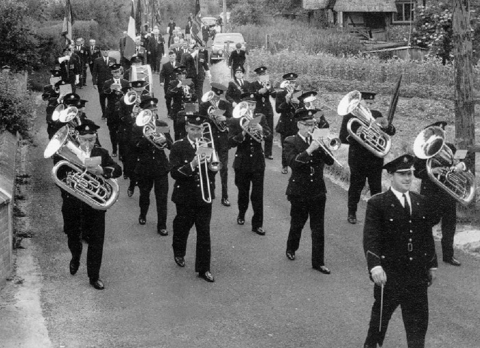 dunkirk veterans parade lower woodford 1969
